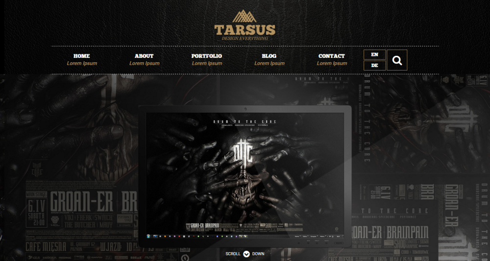 tarsus-responsive-one-page-website-template