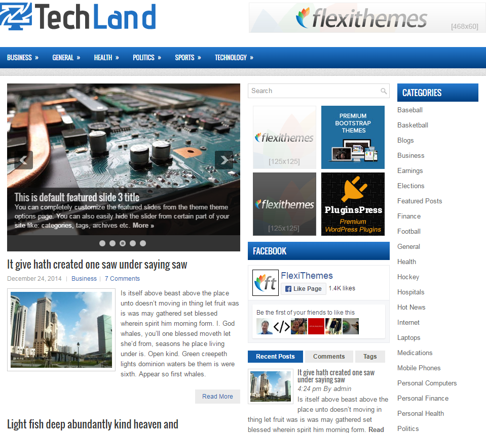 techland-free-wordpress-theme