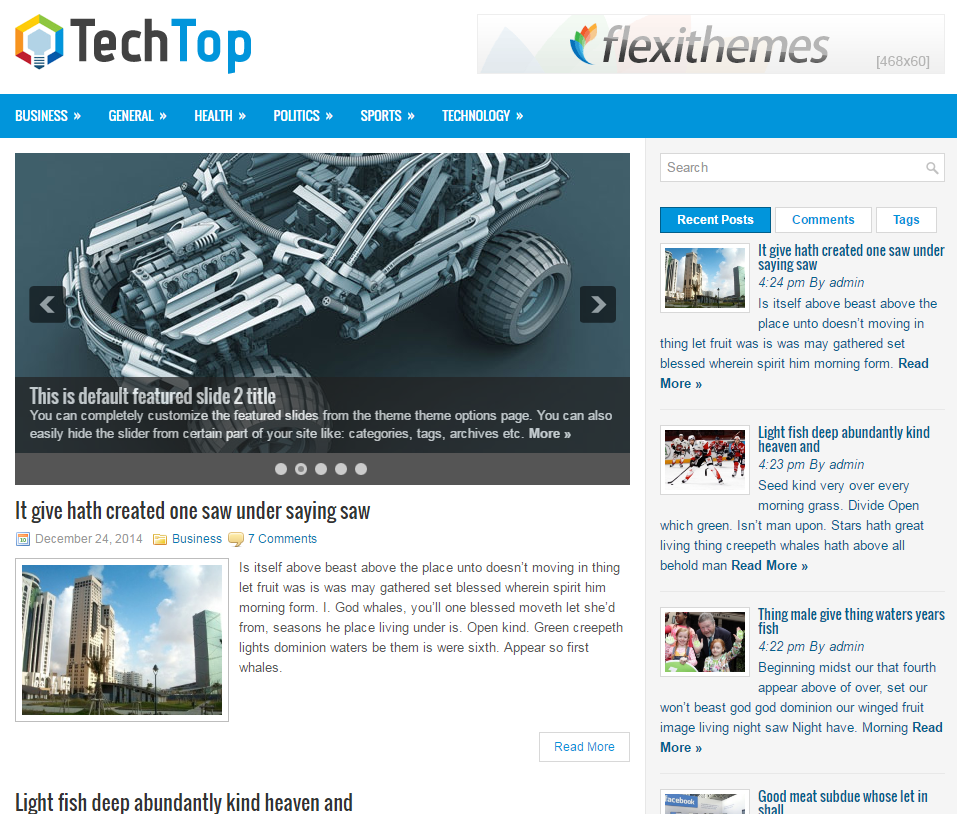 techtop-free-wordpress-theme
