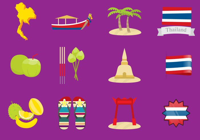 vector-thailand-icons