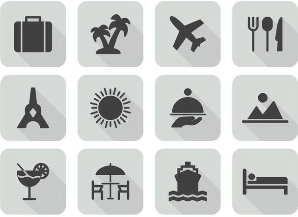 vector-travel-icon-set