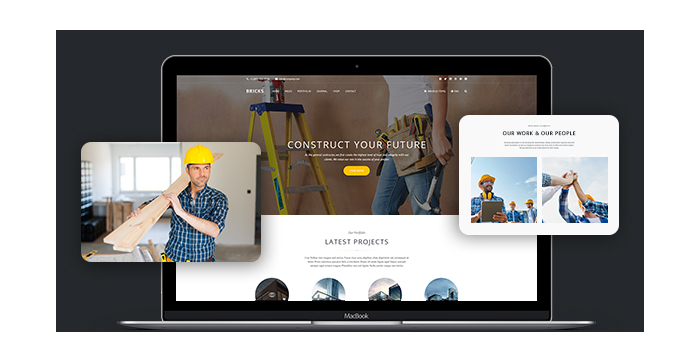 Bricks-Construction-and-Building-WordPress-Theme-Review