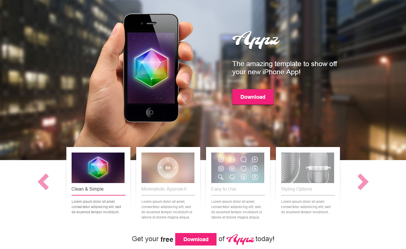 appz-free-wordpress-theme