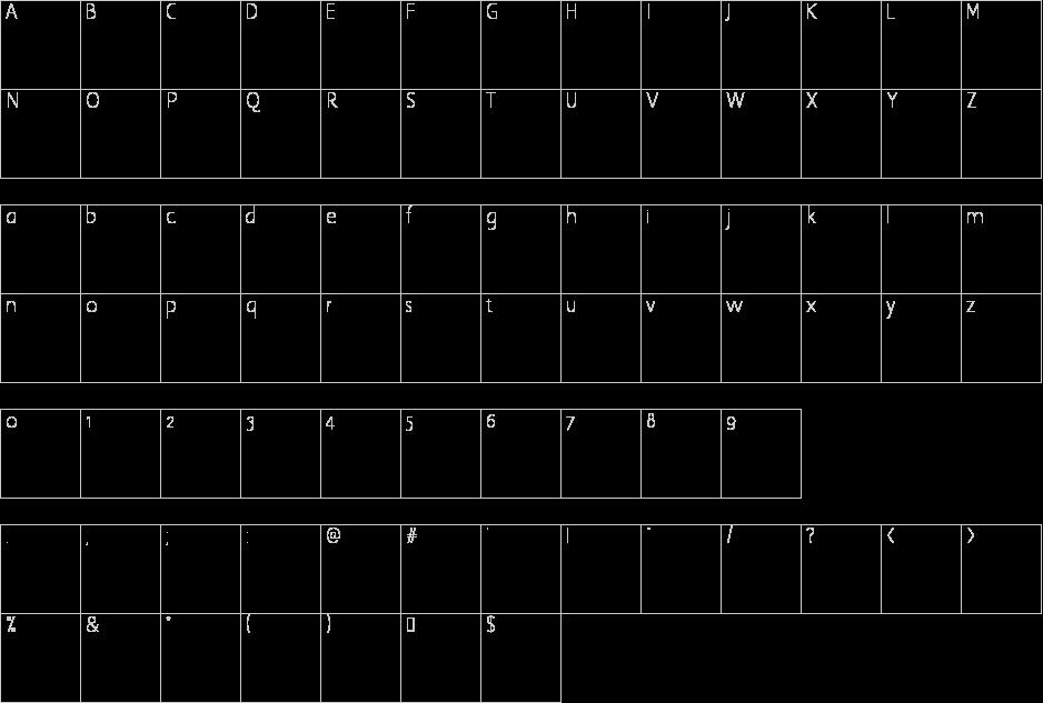 atomic-number-font