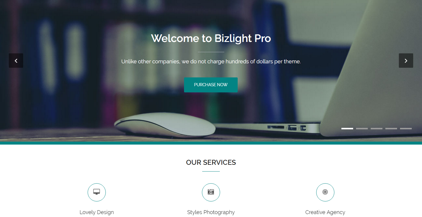 bizlight-free-wordpress-theme