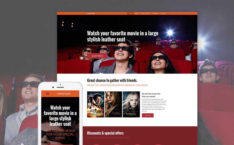 20 Best HTML Templates For Your Entertainment Websites | GT3 Themes