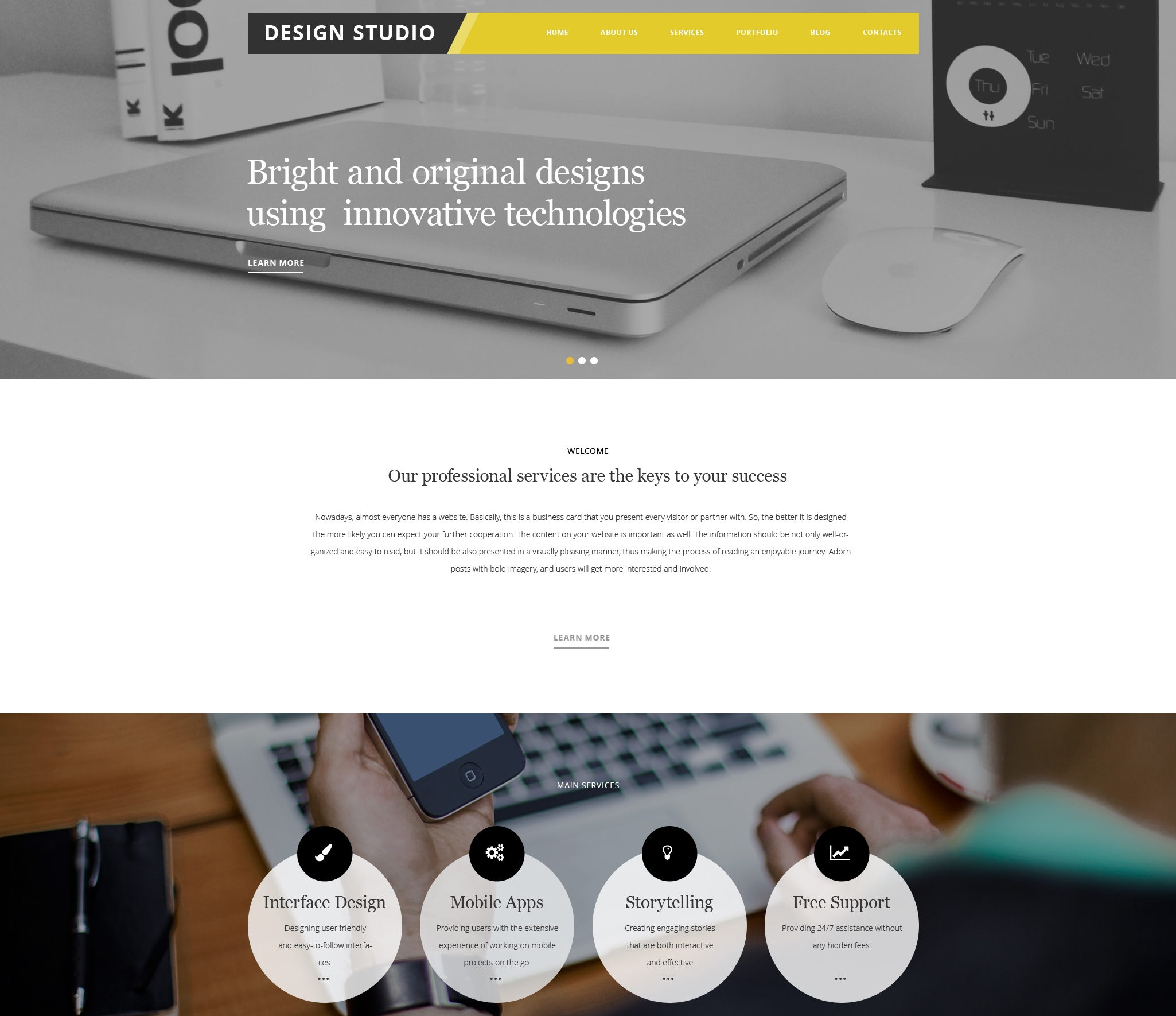 design-studio-premium-wordpress-theme