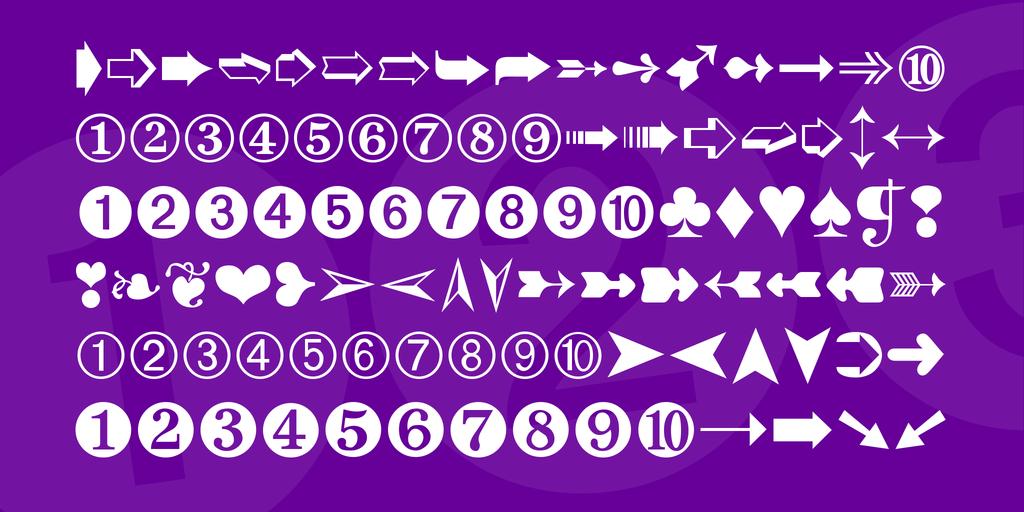 digits-font