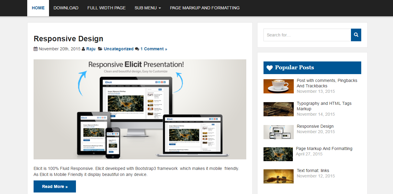 elicit-free-wordpress-theme