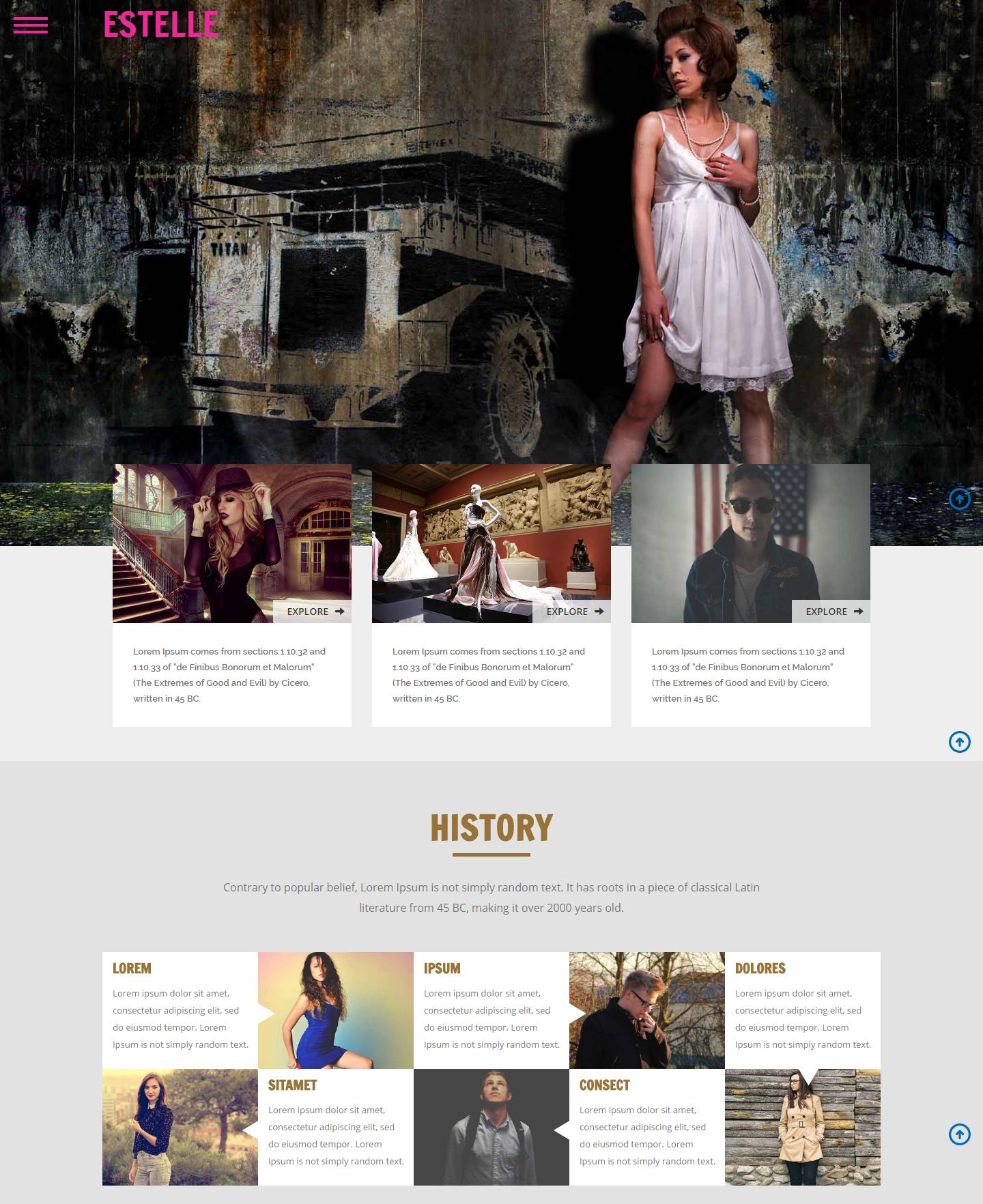 estelle-free-html-template
