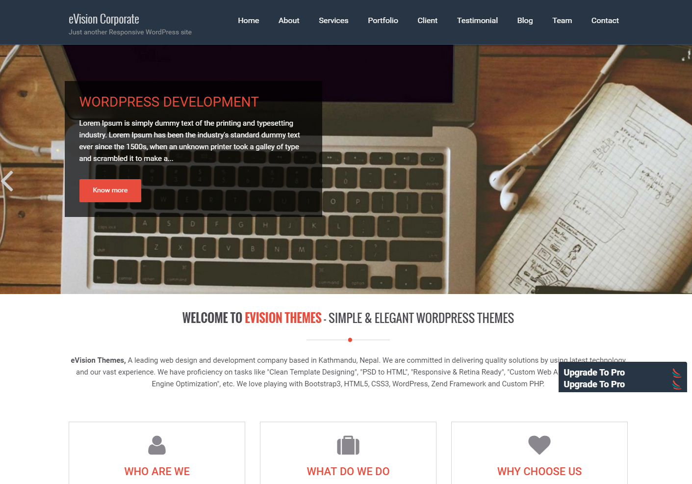 evision-free-wordpress-theme