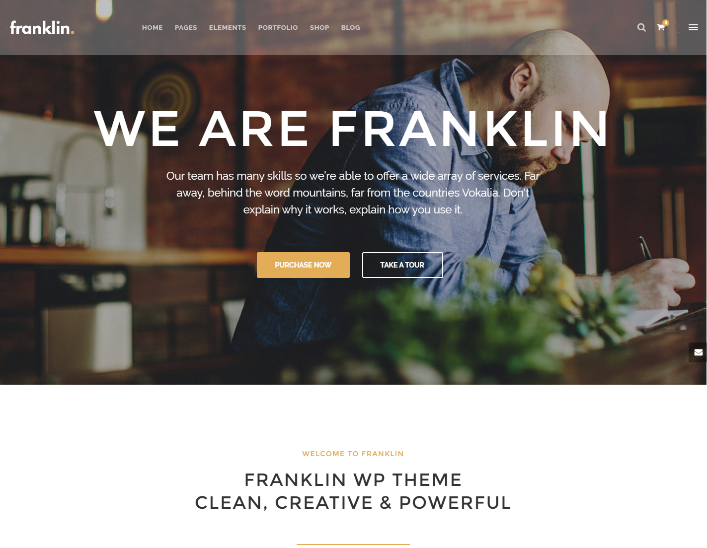 franklin-premium-wordpress-theme
