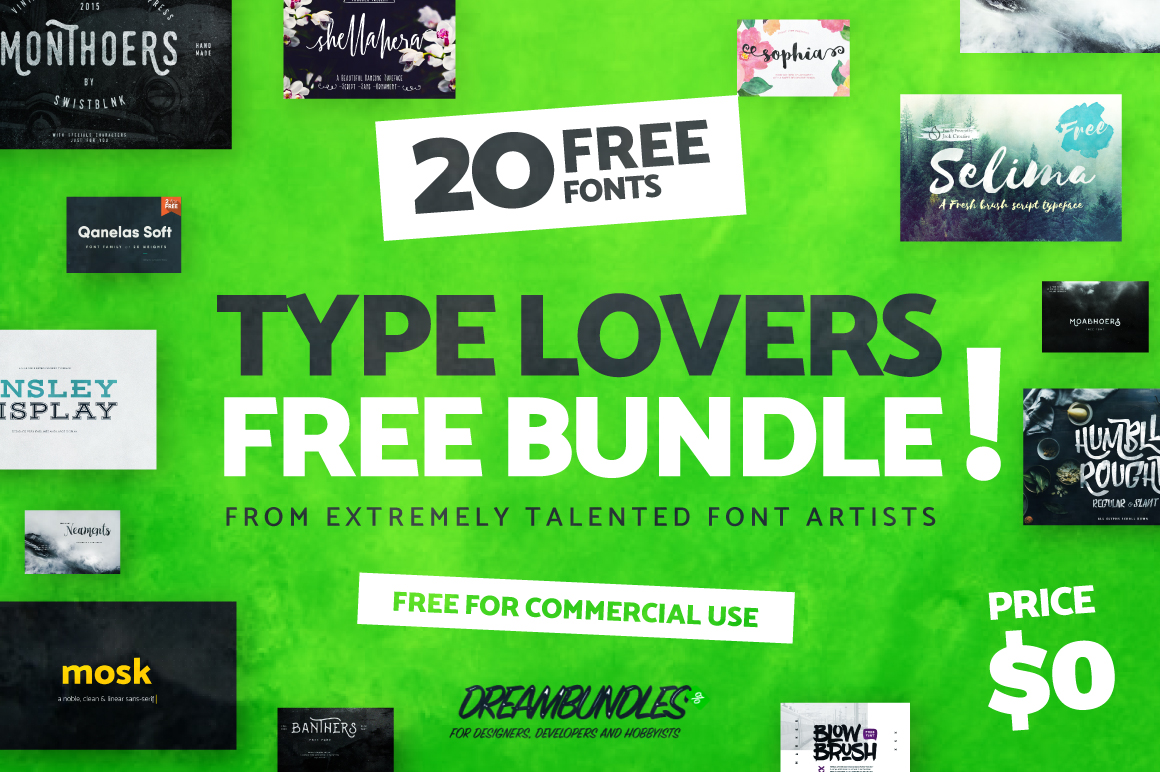 free-type-lovers-dream-bundle