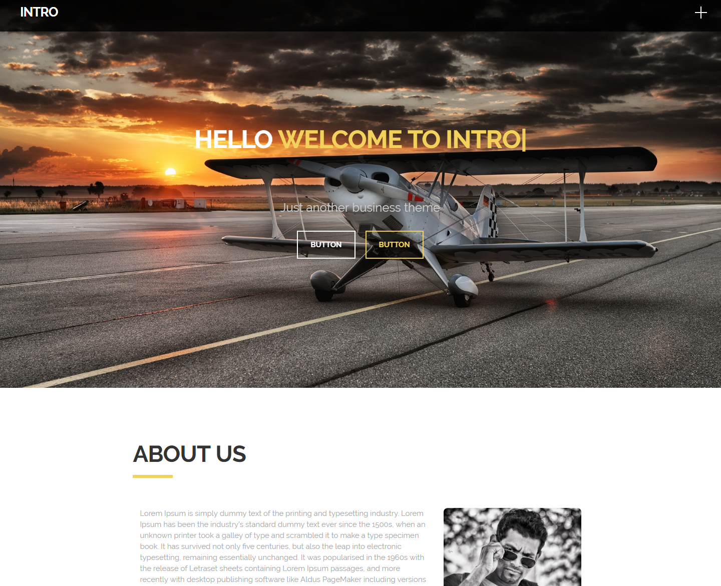 intro-free-wordpress-theme