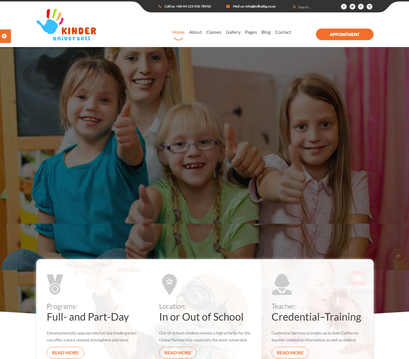 kinder-premium-wordpress-theme