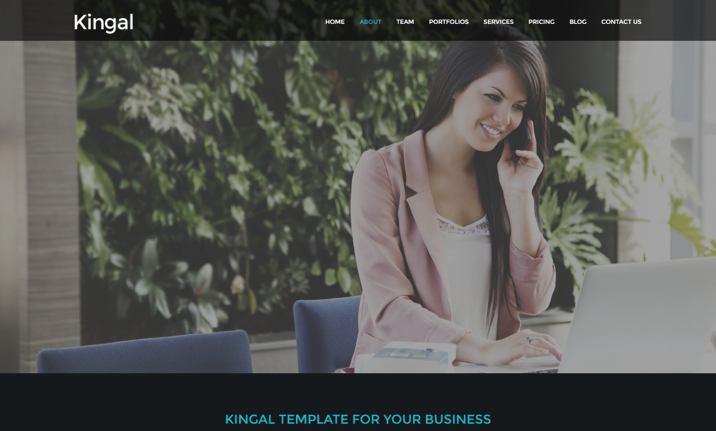 kingal-premium-wordpress-theme