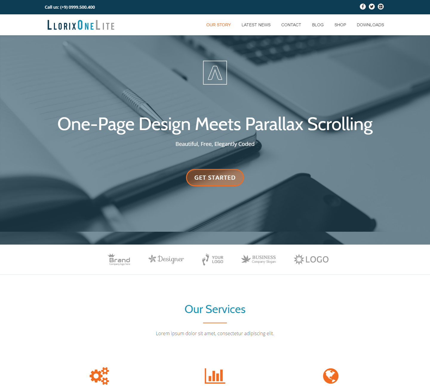 llorix-one-lite-free-wordpress-theme