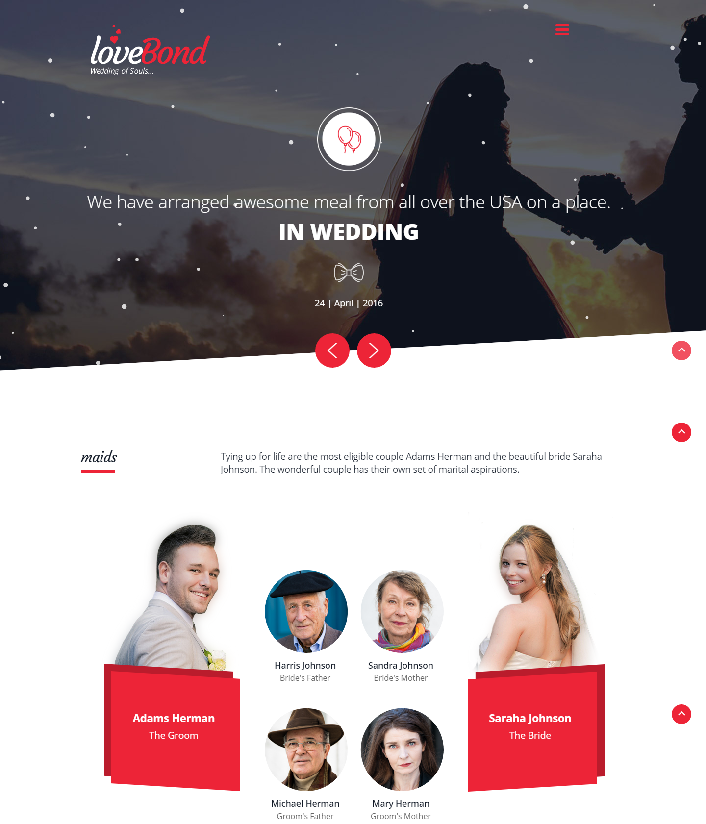 lovebond-premium-html-template