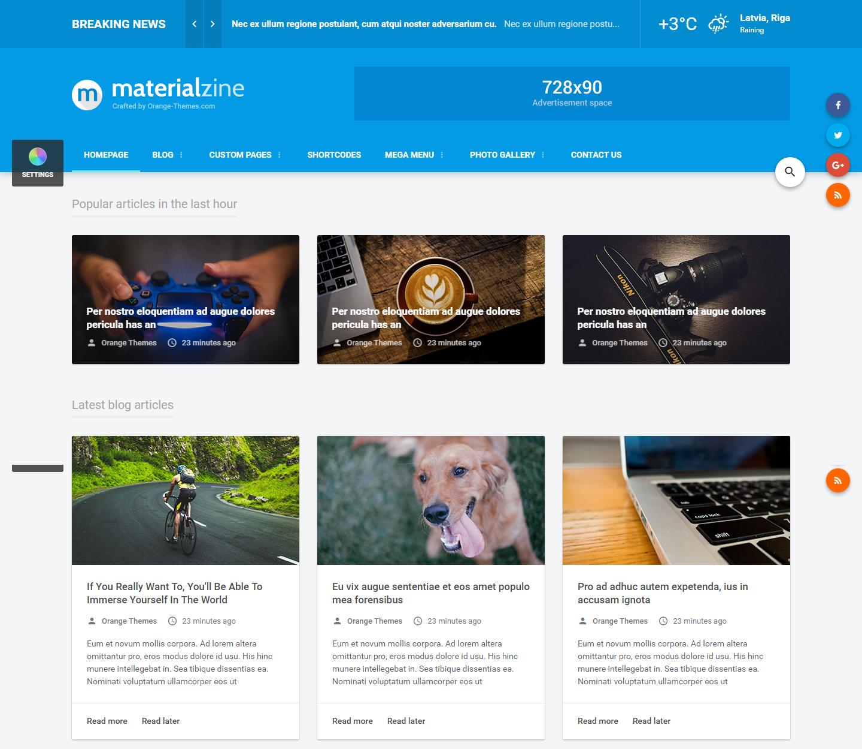 materialzine-premium-html-template