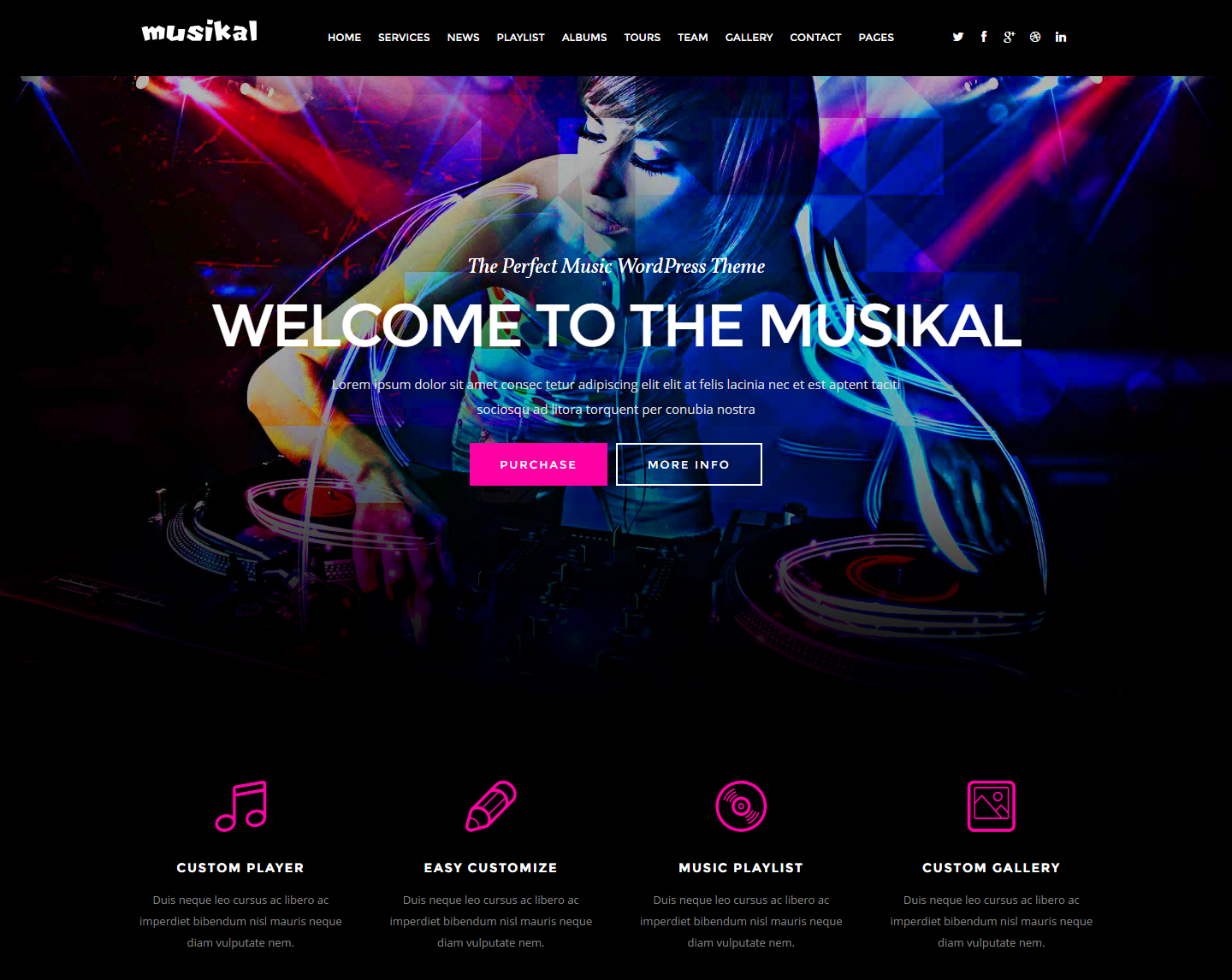 musikal-premium-wordpress-theme