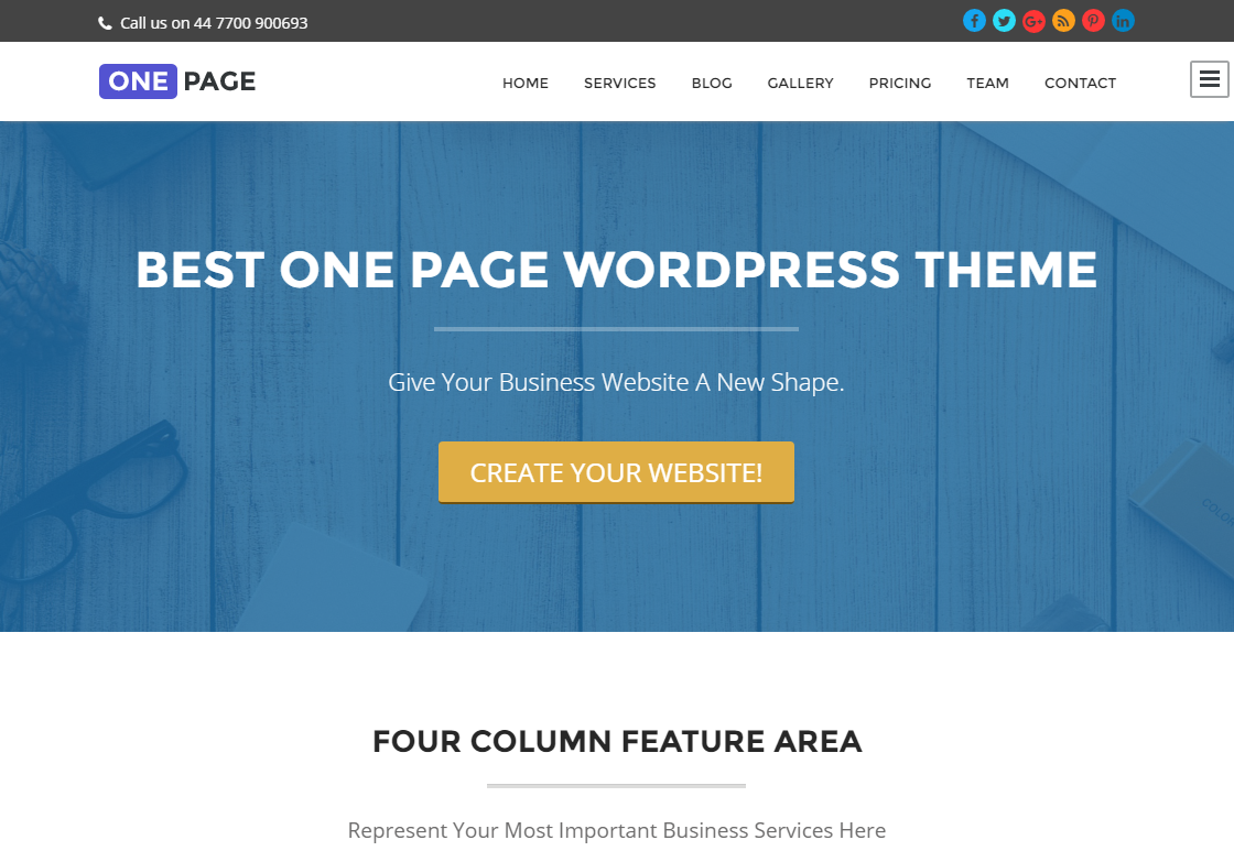 one-page-free-wordpress-theme