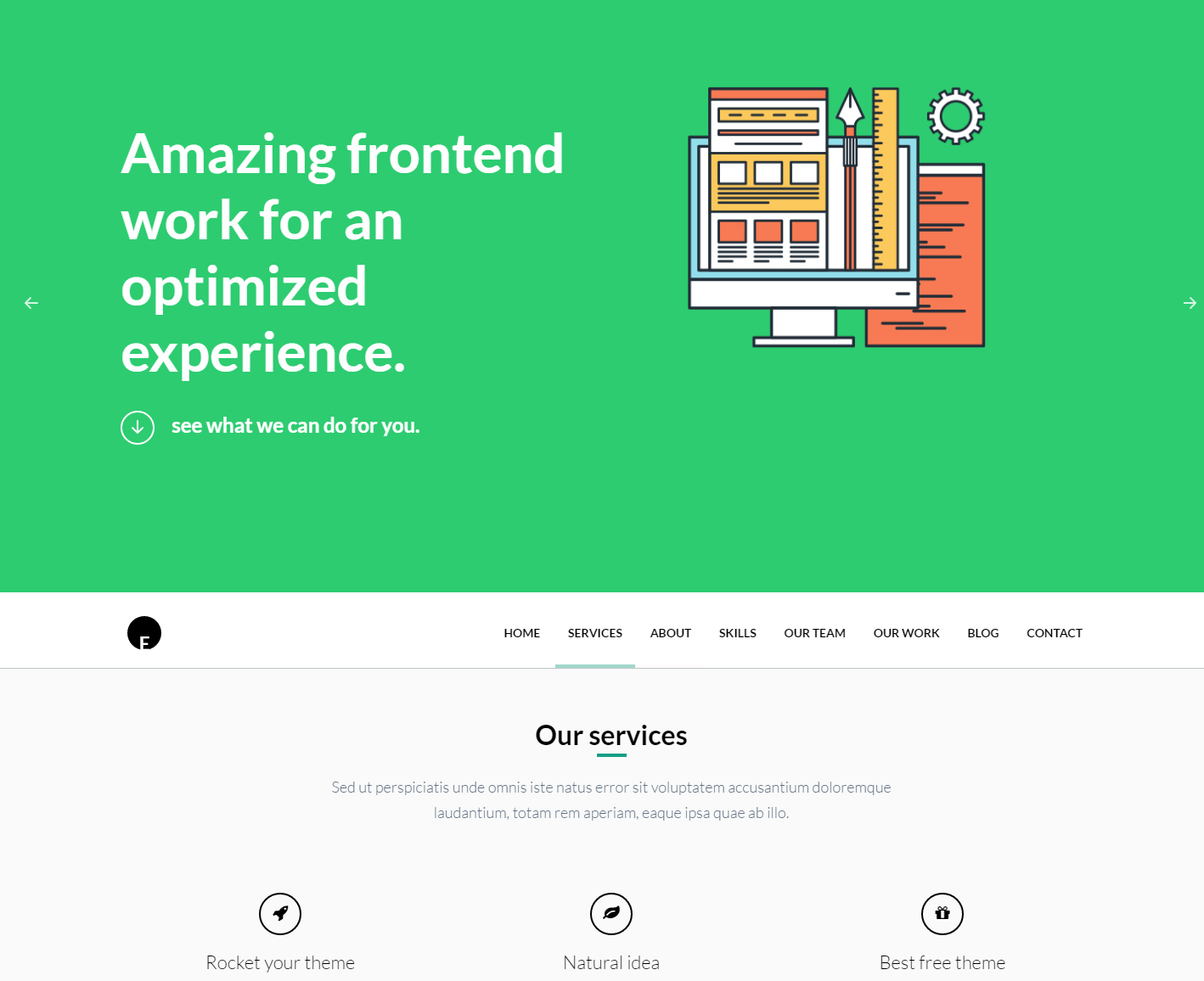 oneengine-free-wordpress-theme