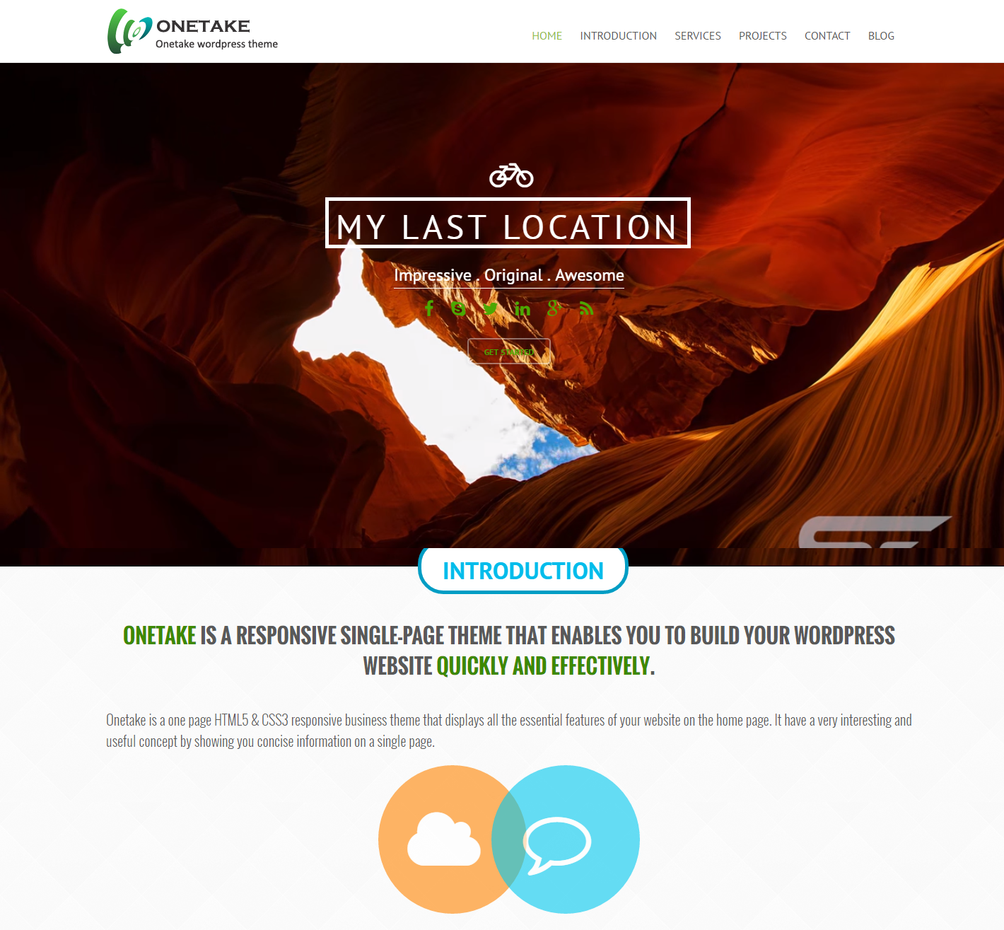 onetake-free-wordpress-theme