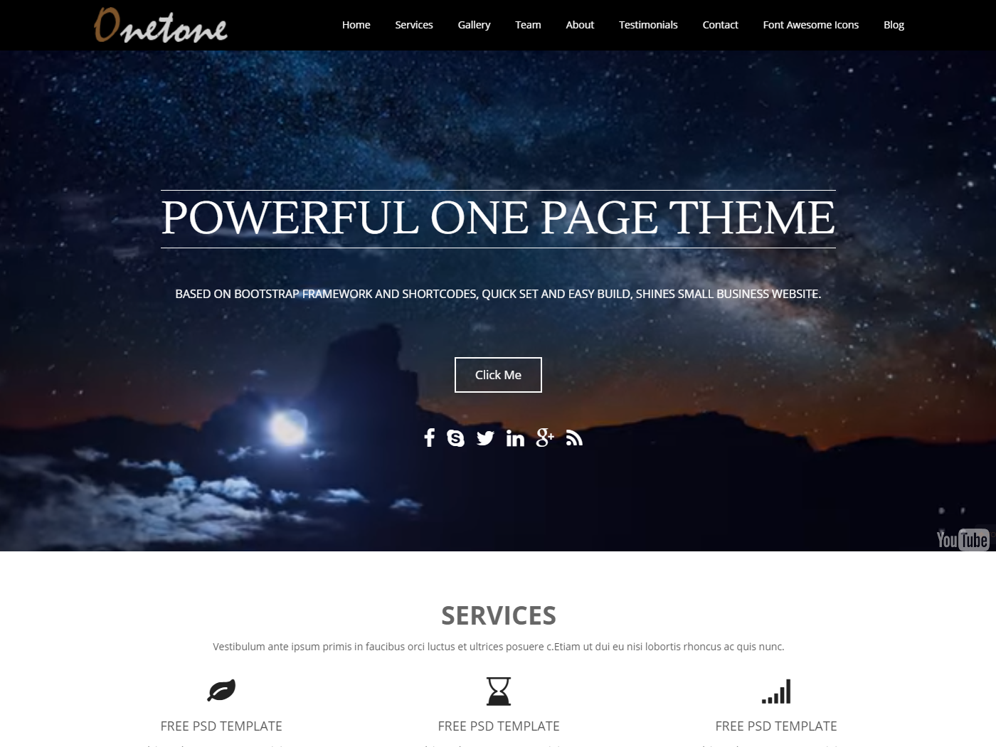 onetone-free-wordpress-theme
