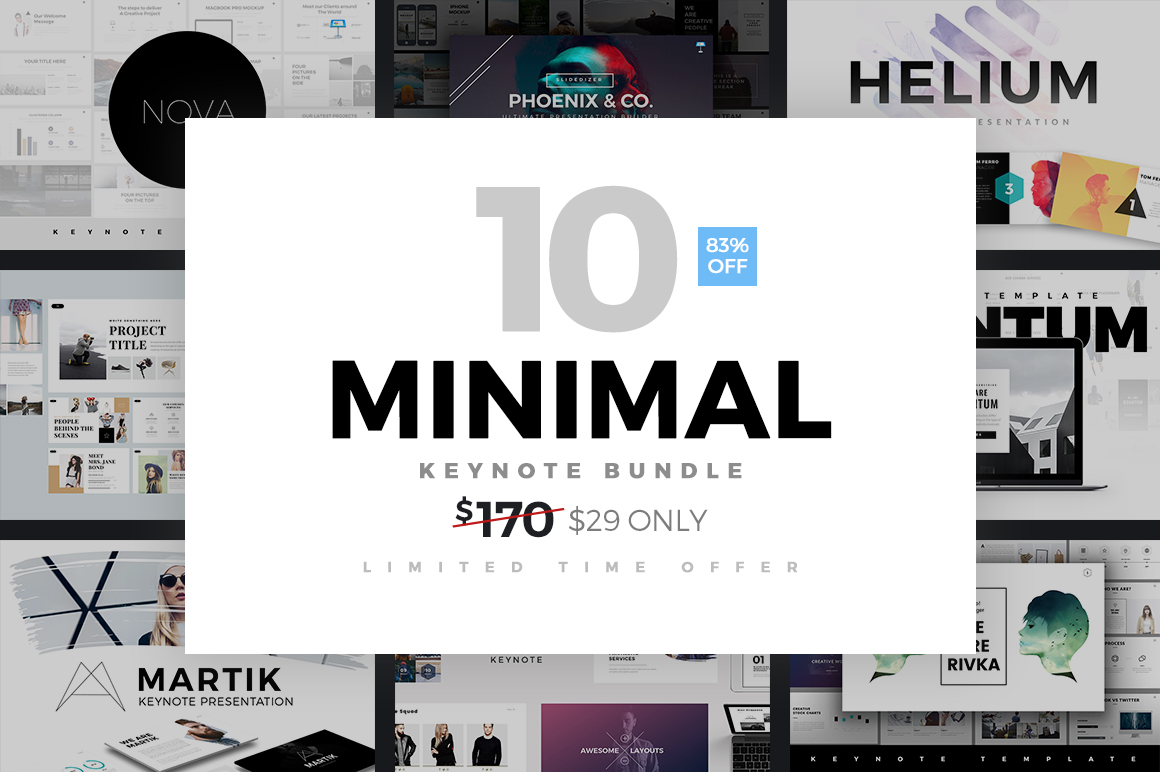 premium-minimal-keynote-template-bundle