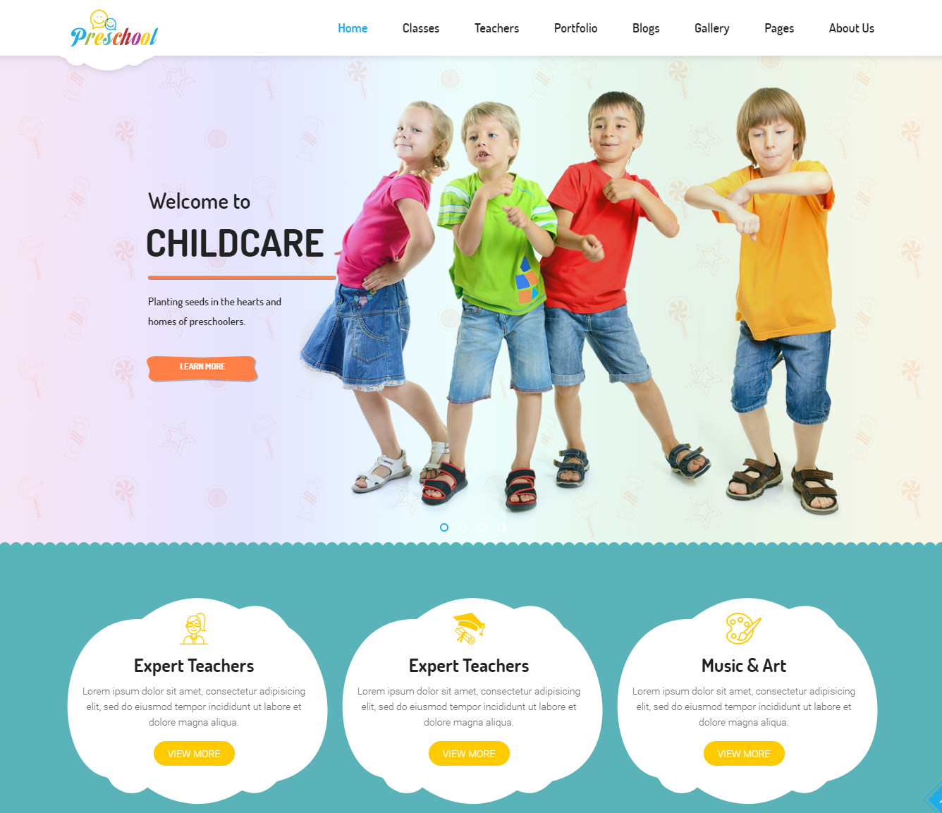 preschool-premium-wordpress-theme