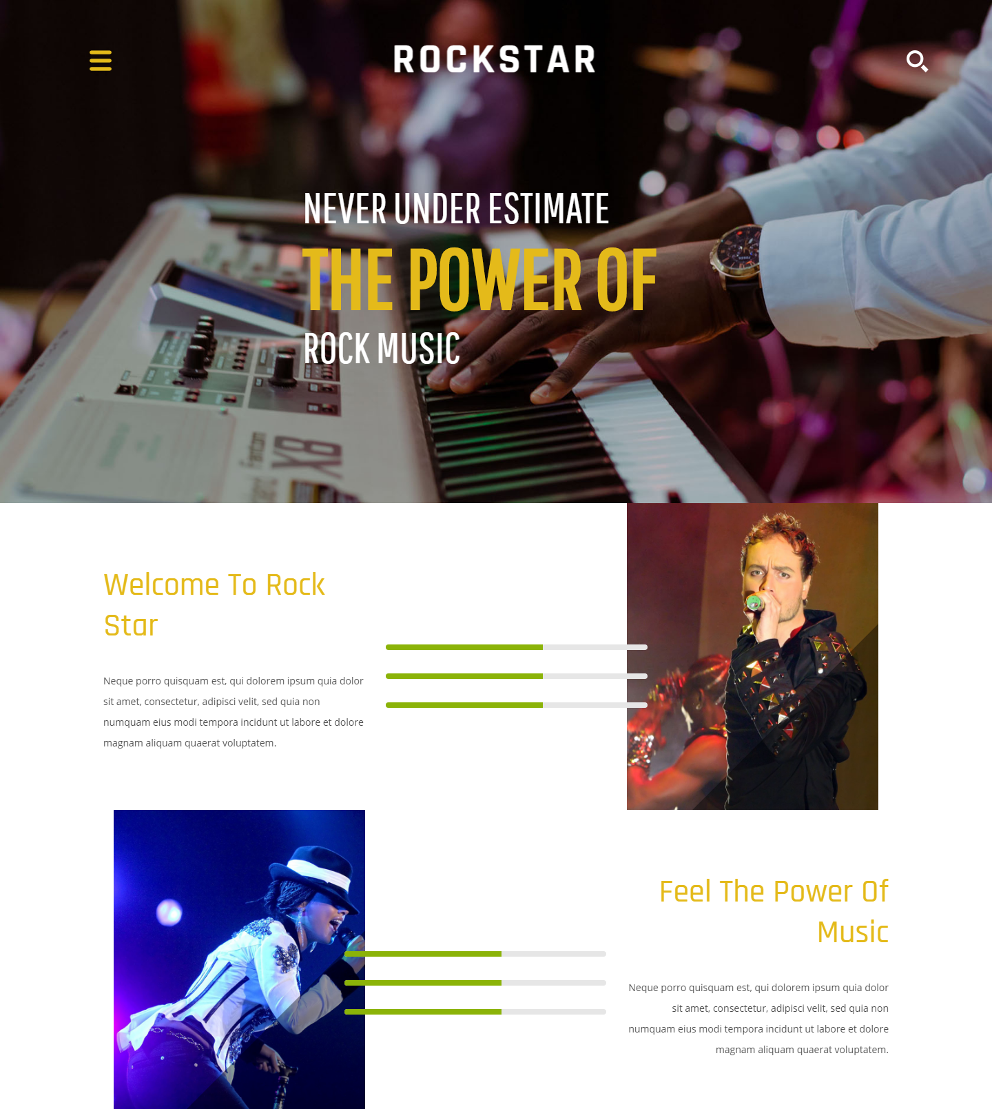 20 best html templates for your entertainment websites gt3 themes rock star free html template accmission Image collections