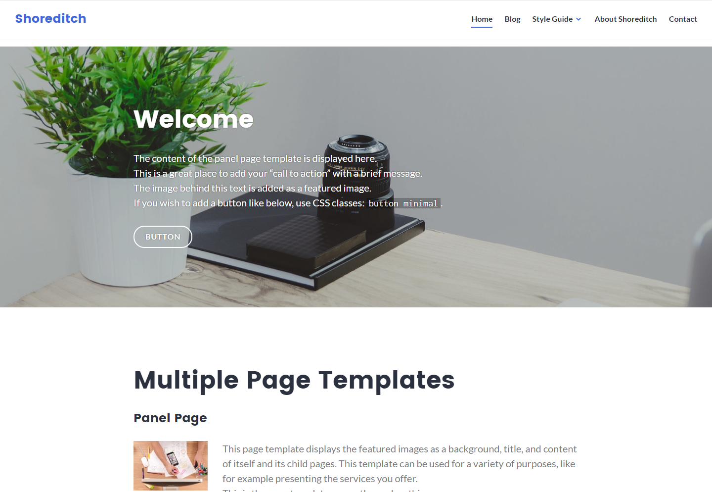 shoreditch-free-wordpress-theme