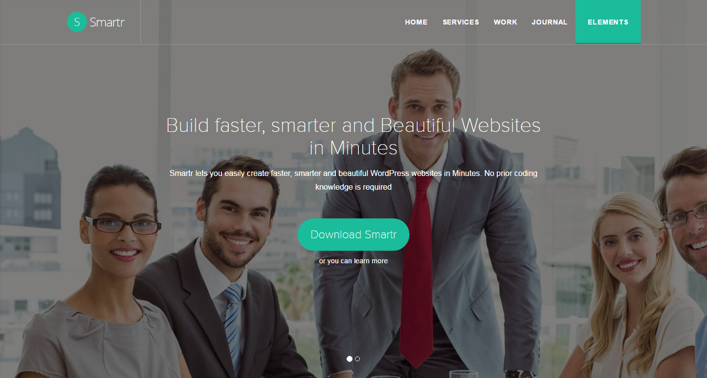 smartr-free-wordpress-theme