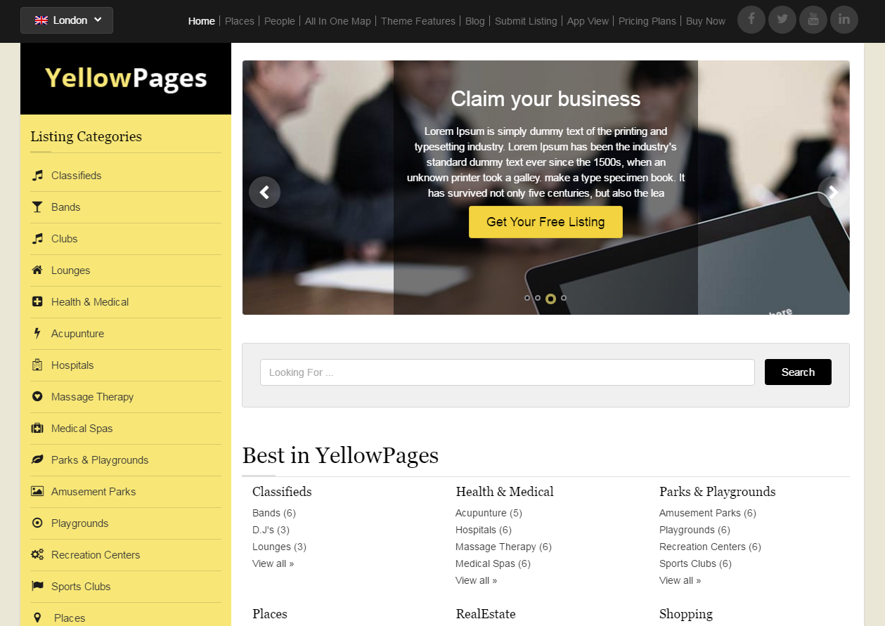 yellow-pages-free-wordpress-theme