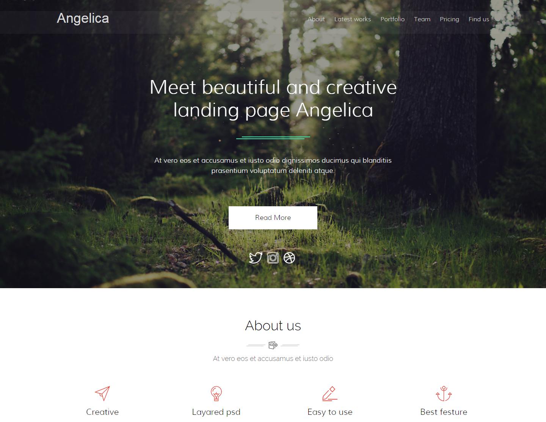 angelica-premium-html-template