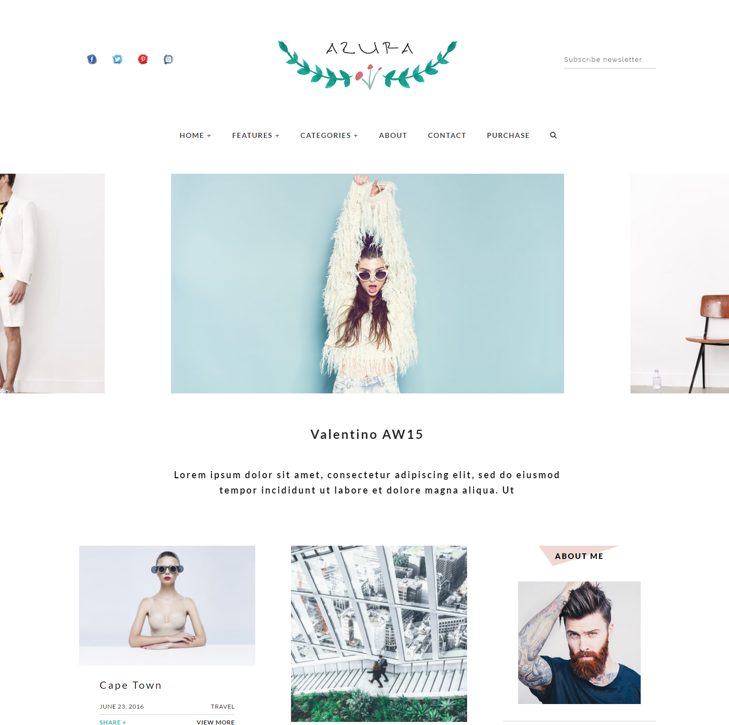 azura-premium-wordpress-theme