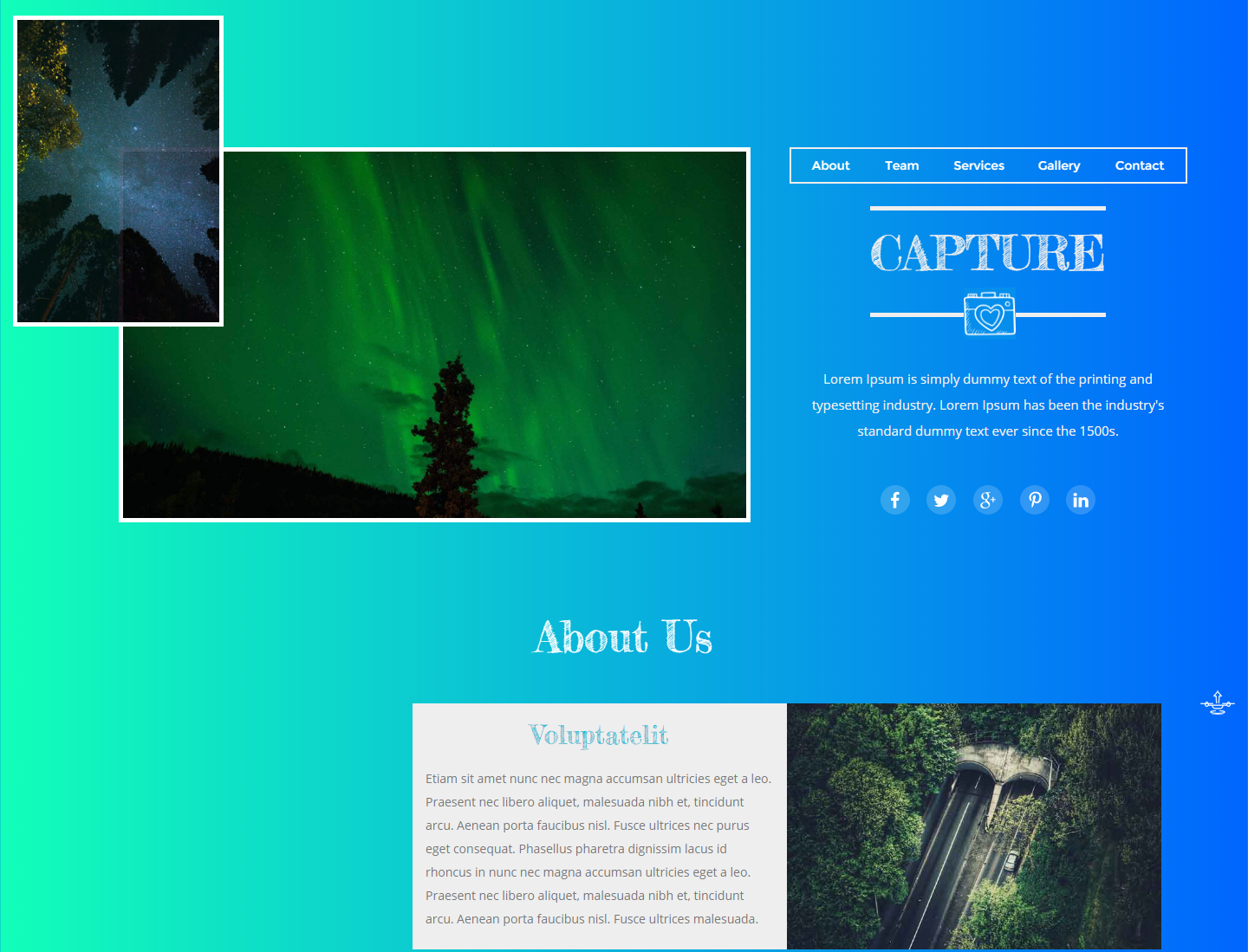 capture-free-html-template