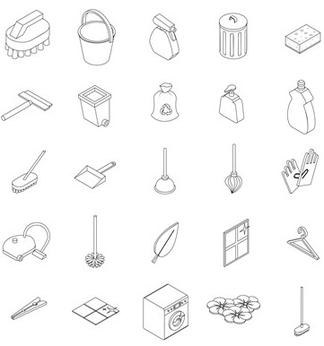 cleaning-premium-icon-set