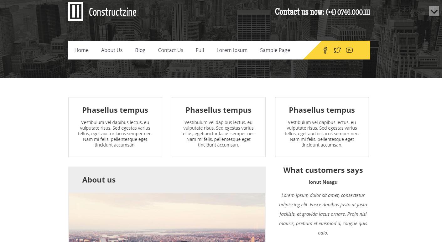 constructzine-free-wordpress-theme