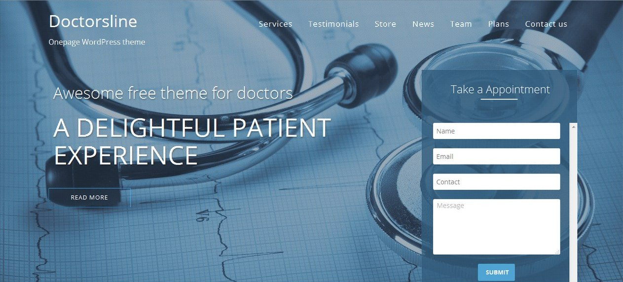 doctorsline-free-wordpress-theme