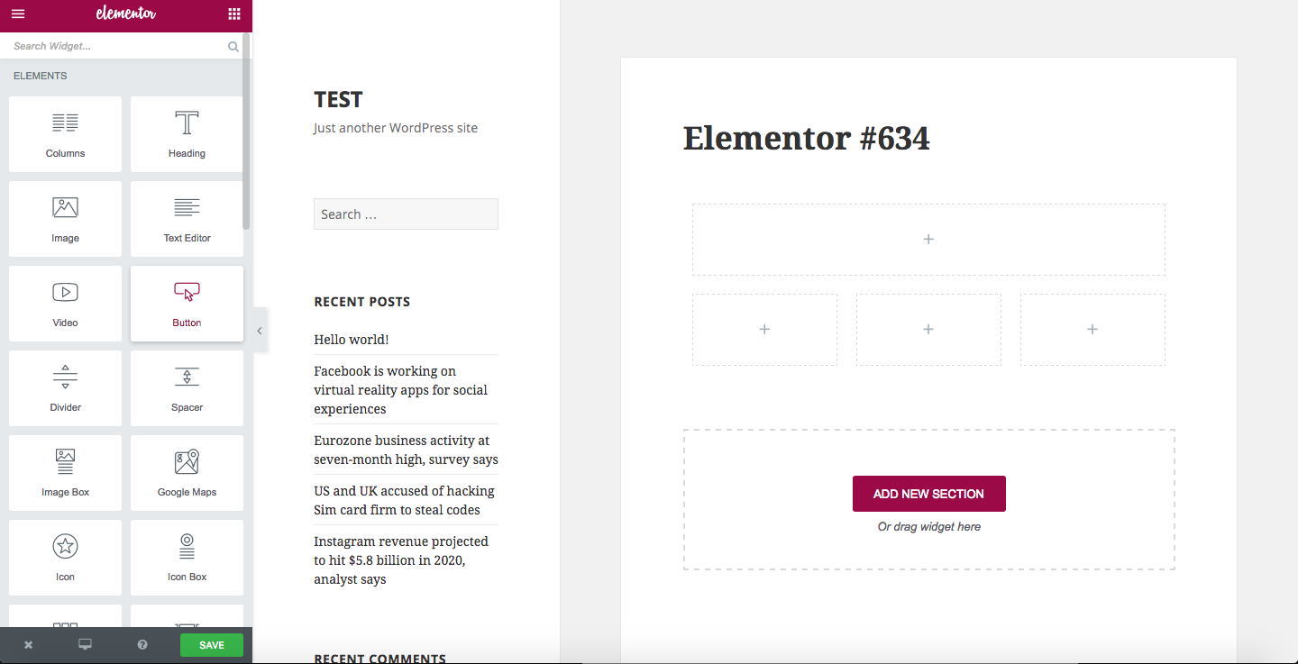 elementor-free-page-builder