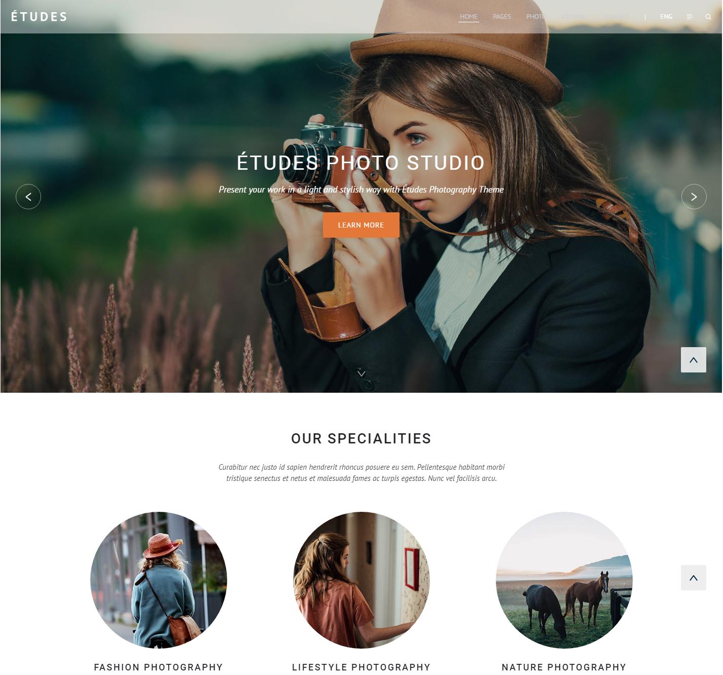 etudes-premium-wordpress-theme