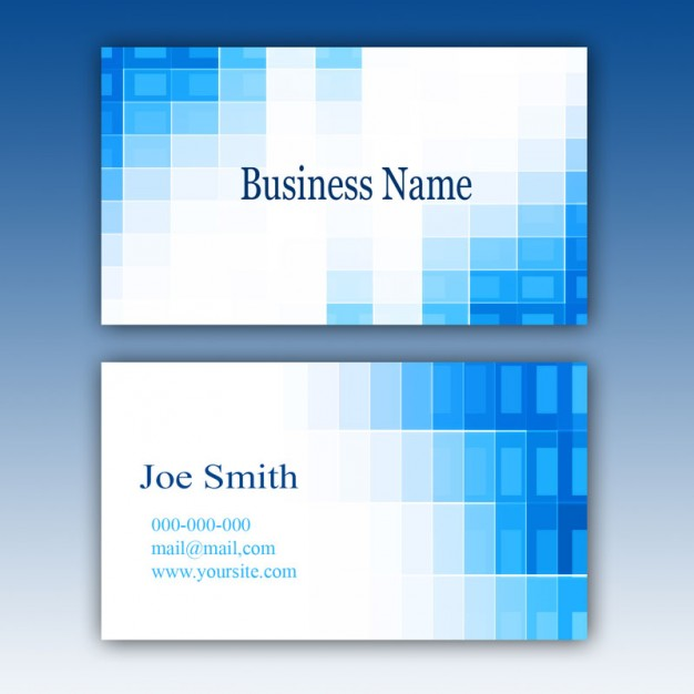 free-blue-business-card-template-mockup