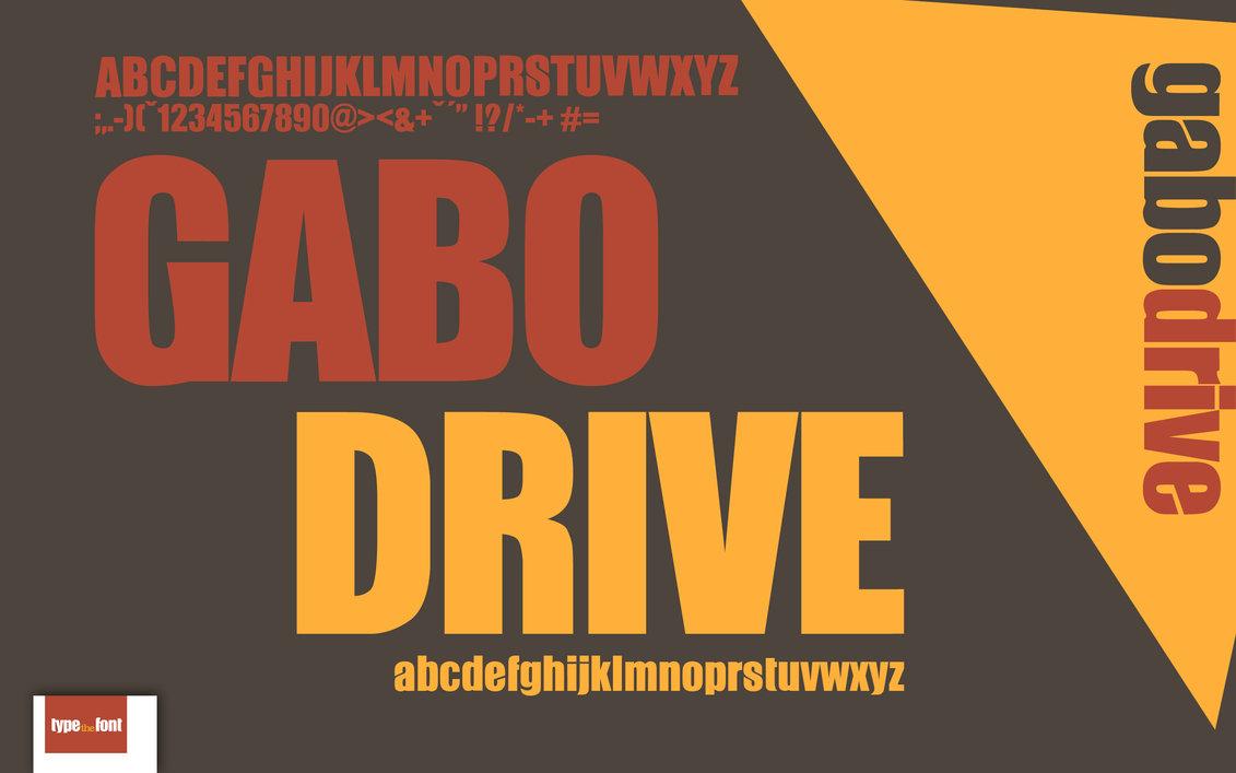 gabo-free-font
