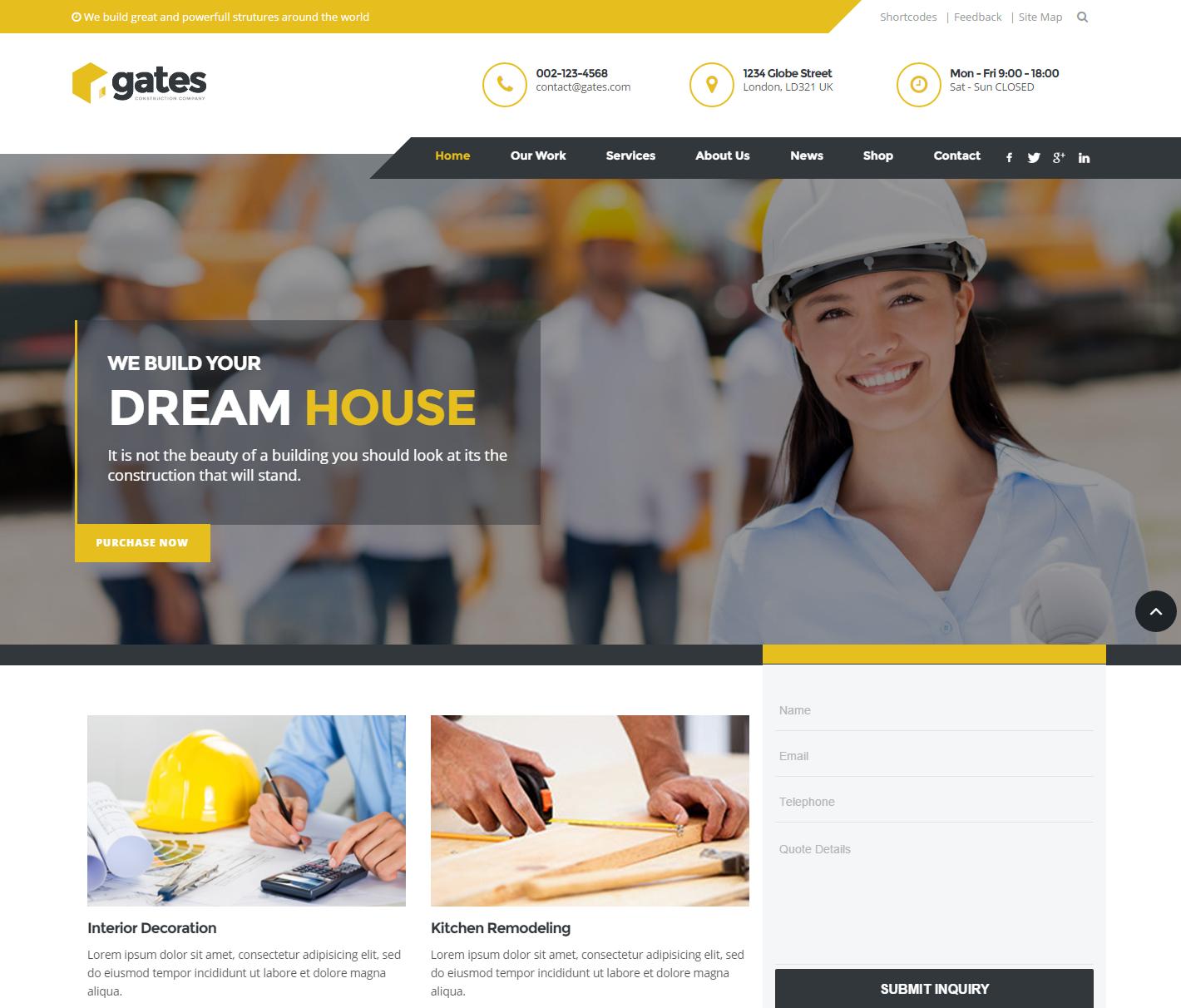 gates-premium-wordpress-theme