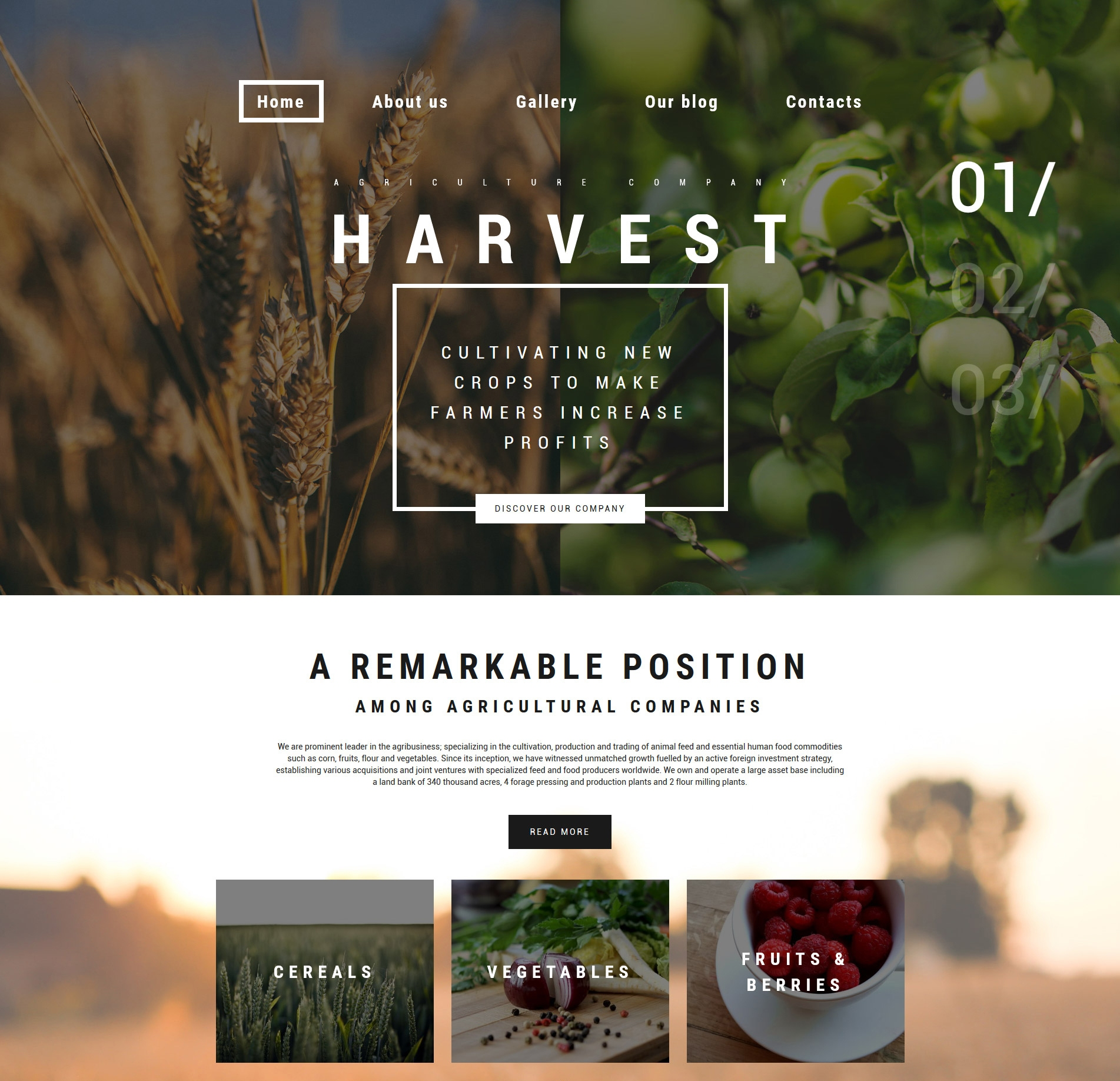 harvest-premium-wordpress-theme