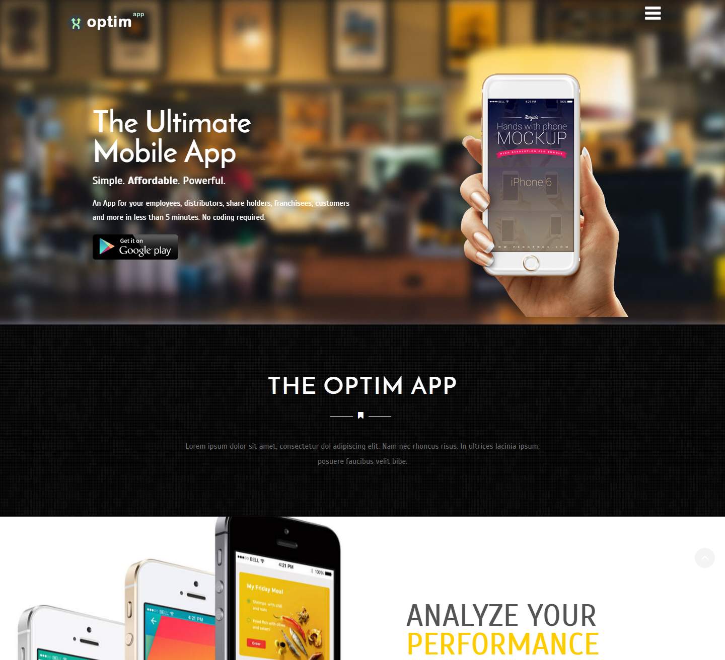 optimizer-free-wordpress-theme