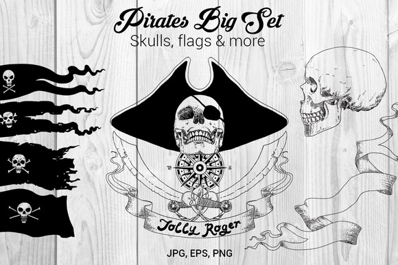 pirates-big-set-premium-illustration