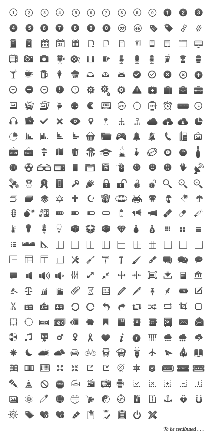 pixel-perfect-free-icon-set