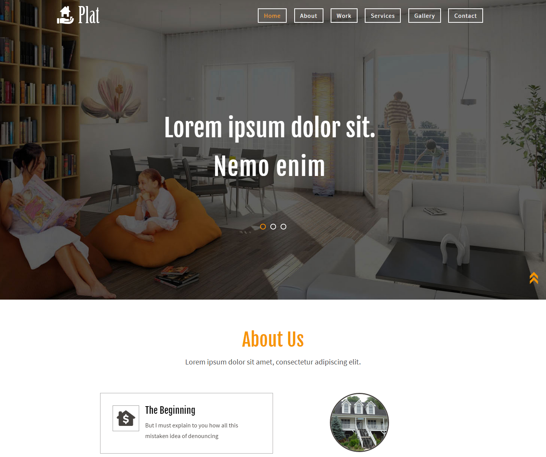 plat-free-html-template